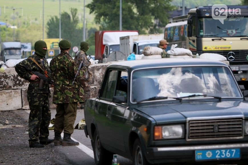 Въезд в Донецк со стороны Мариуполя взял под охрану батальон «Восток» (ФОТО, ВИДЕО), фото-4
