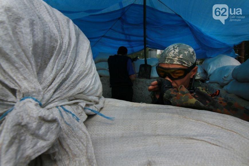 Въезд в Донецк со стороны Мариуполя взял под охрану батальон «Восток» (ФОТО, ВИДЕО), фото-3