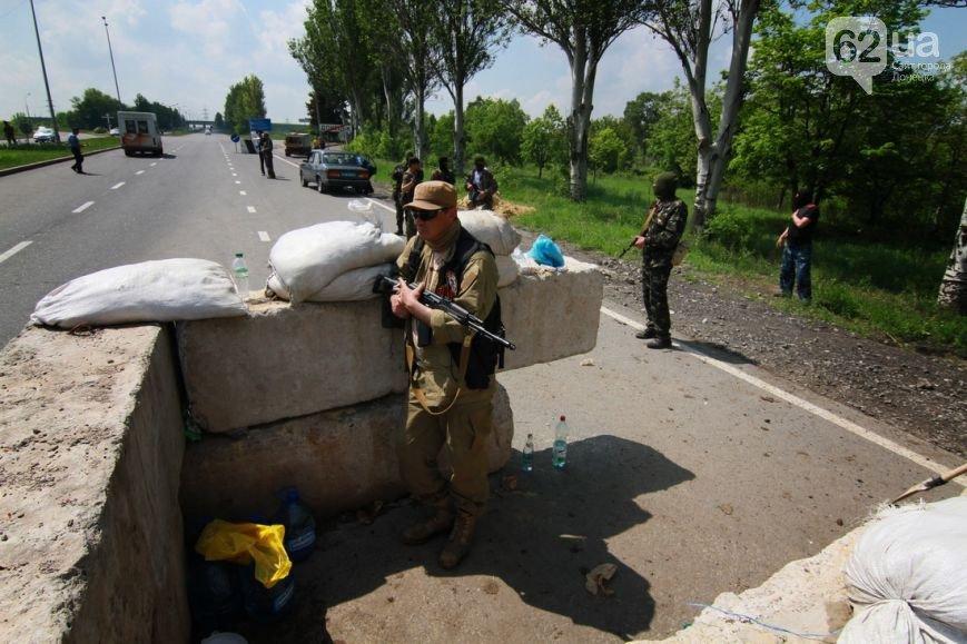 Въезд в Донецк со стороны Мариуполя взял под охрану батальон «Восток» (ФОТО, ВИДЕО), фото-5