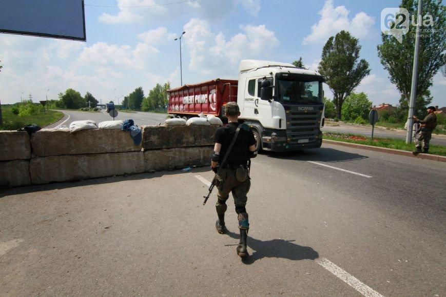 Въезд в Донецк со стороны Мариуполя взял под охрану батальон «Восток» (ФОТО, ВИДЕО), фото-2