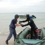 Специалисты международного центра разминирования помогают николаевским спасателям на Кинбурне (ФОТО), фото-2