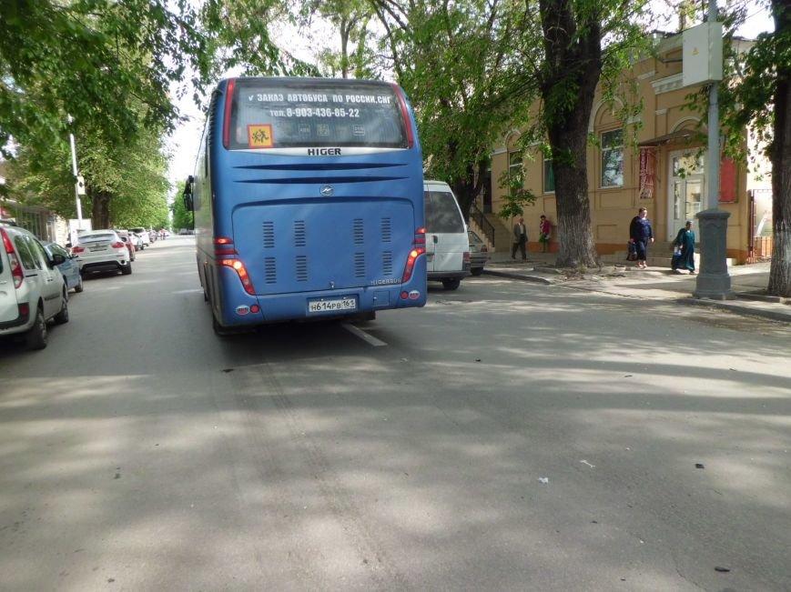 Виной пробки на Петровской в Таганроге стало разбитое зеркало (ФОТО), фото-1