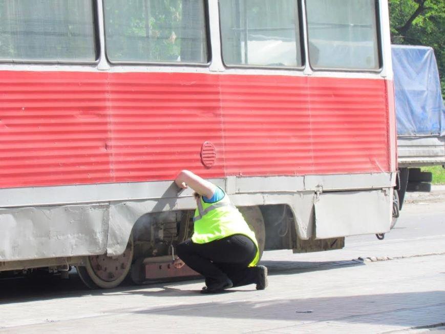 В Мариуполе задымился трамвай (ФОТО), фото-5