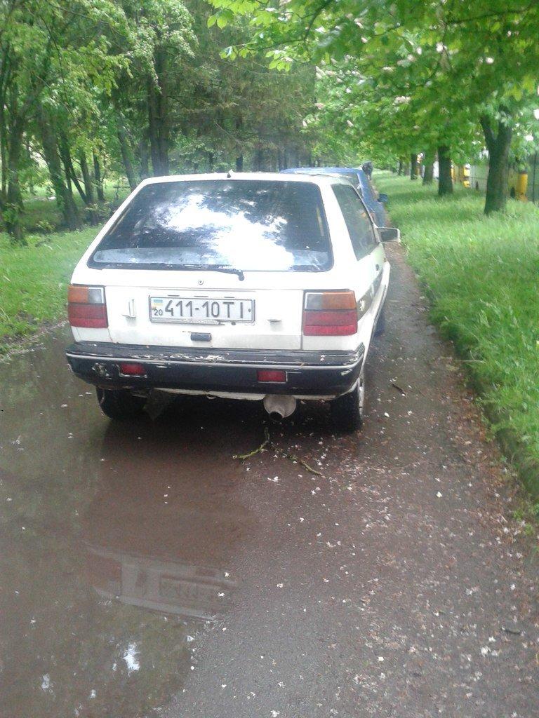 У Тернополі водії паркуються посеред тротуару (фото), фото-2