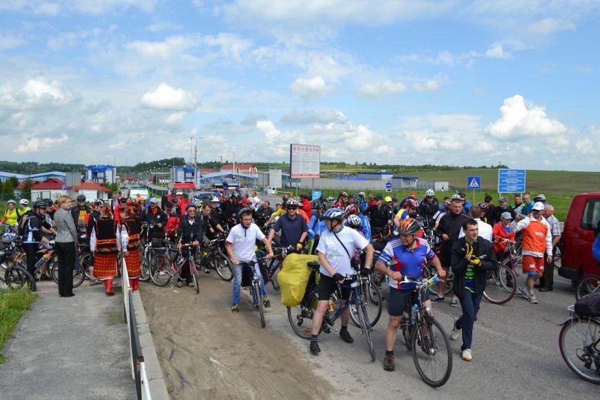 На Львівщині майже дві сотні велосипедистів досліджують прикордонні землі (ФОТО), фото-4