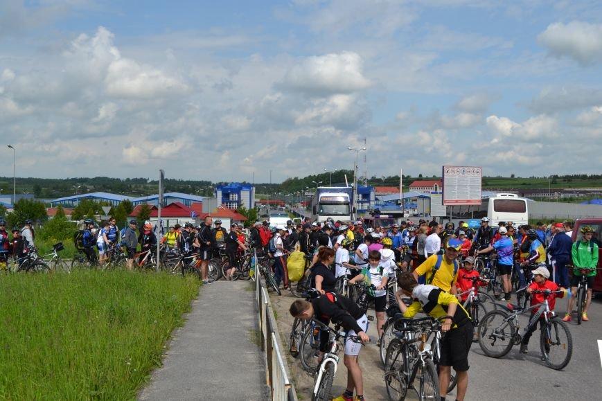 На Львівщині майже дві сотні велосипедистів досліджують прикордонні землі (ФОТО), фото-1