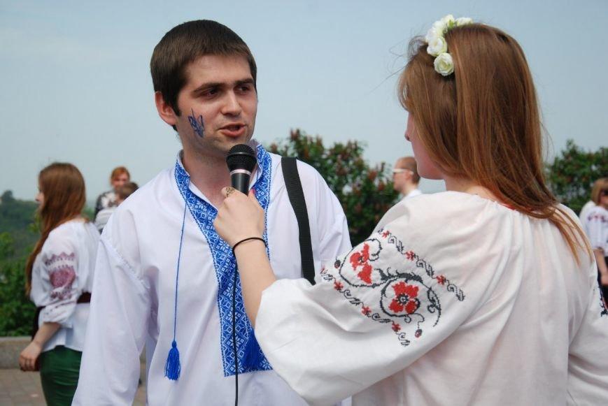 Головний координатор Мегамаршу у Полтав__ - Роман Повзик