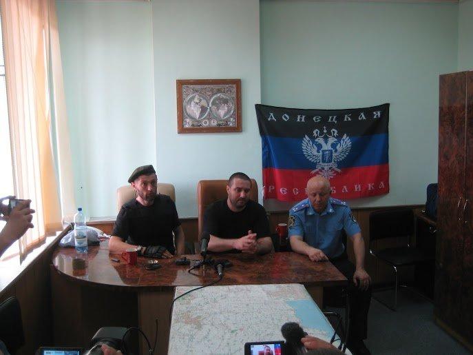Лидеры ДНР пообещали, что покинут здание ОБОПа (ФОТО), фото-1