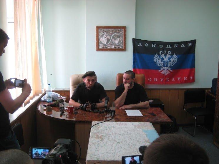Лидеры ДНР пообещали, что покинут здание ОБОПа (ФОТО), фото-2