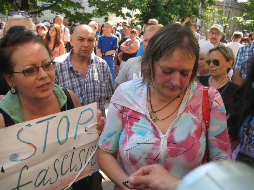 В Мариуполе  представители ДНР переименовали улицу Георгиевскую в  «Героев 9 мая» (ФОТО), фото-7