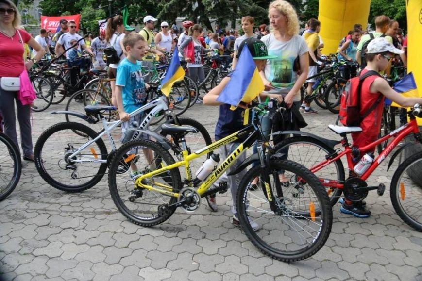 В Чернигове соорудили рекордный живой велосипед, фото-5
