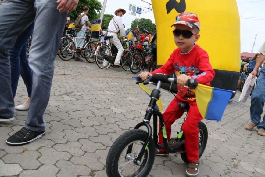 В Чернигове соорудили рекордный живой велосипед, фото-6