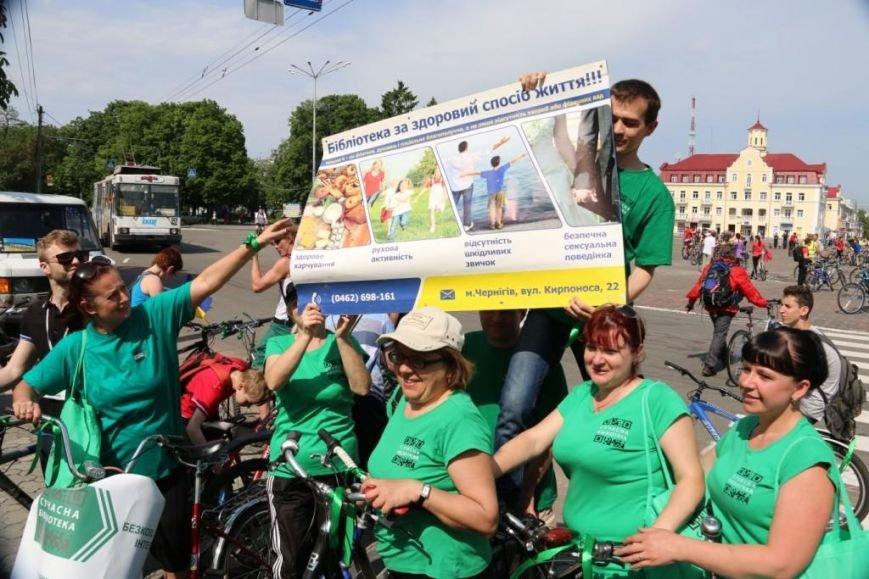 В Чернигове соорудили рекордный живой велосипед, фото-3