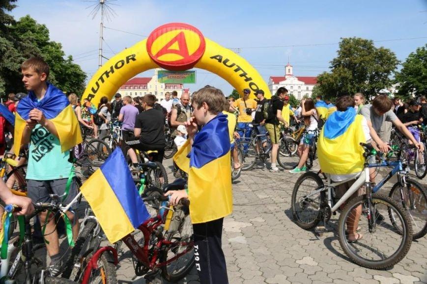 В Чернигове соорудили рекордный живой велосипед, фото-4