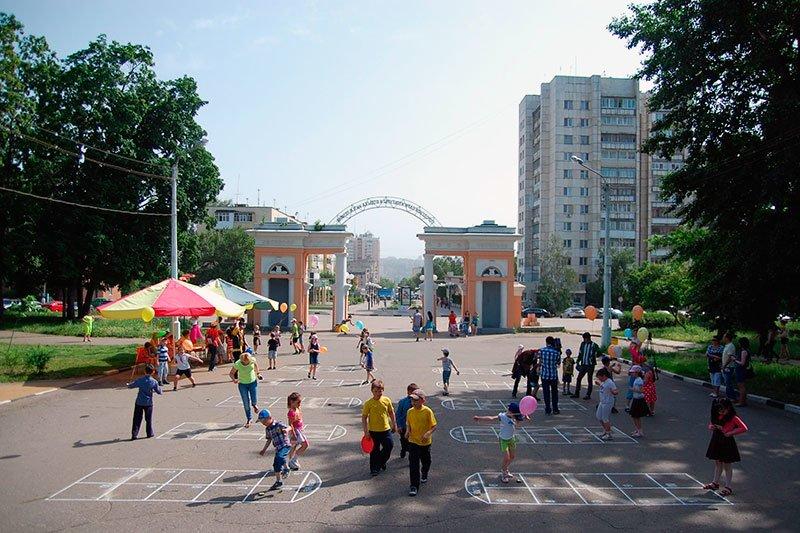 В белгородском центральном парке появились поля для популярной средневековой игры, фото-5