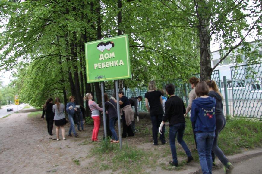 В Ульяновске субботник начался со спортивной разминки, фото-4