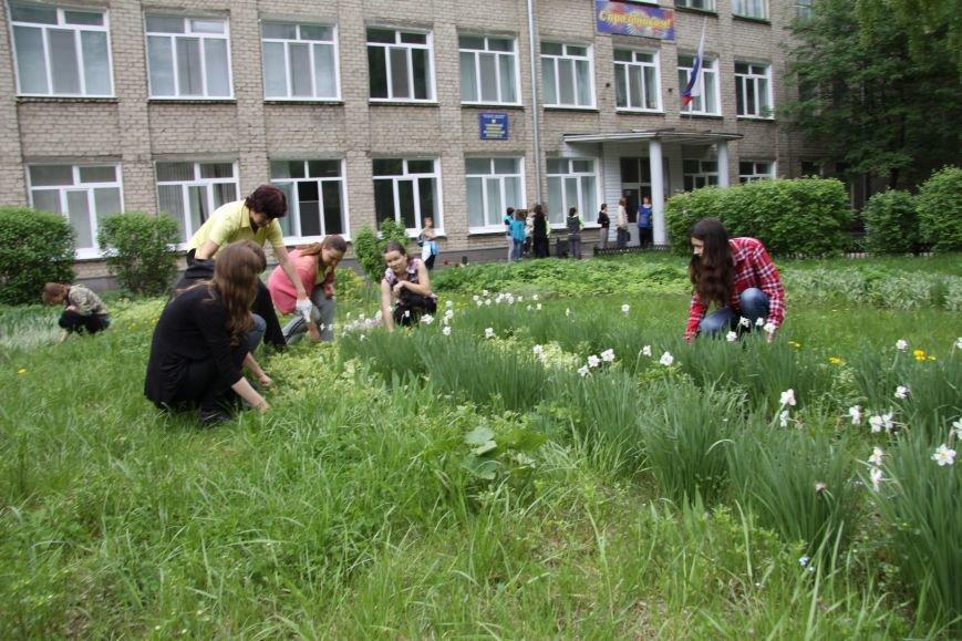В Ульяновске субботник начался со спортивной разминки, фото-3
