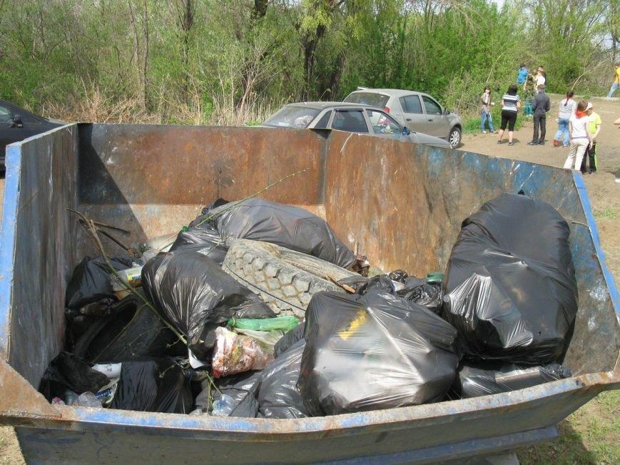 В Ульяновской области убрали мусор вдоль береговой линии Волги, фото-2