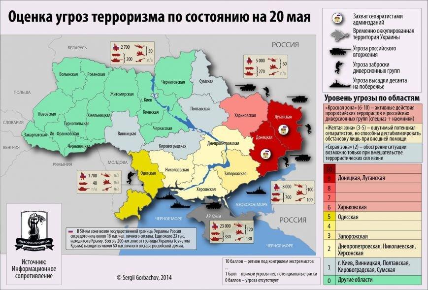 Николаевщину занесли в «желтую зону» на карте оценки угроз терроризма (ФОТО), фото-1