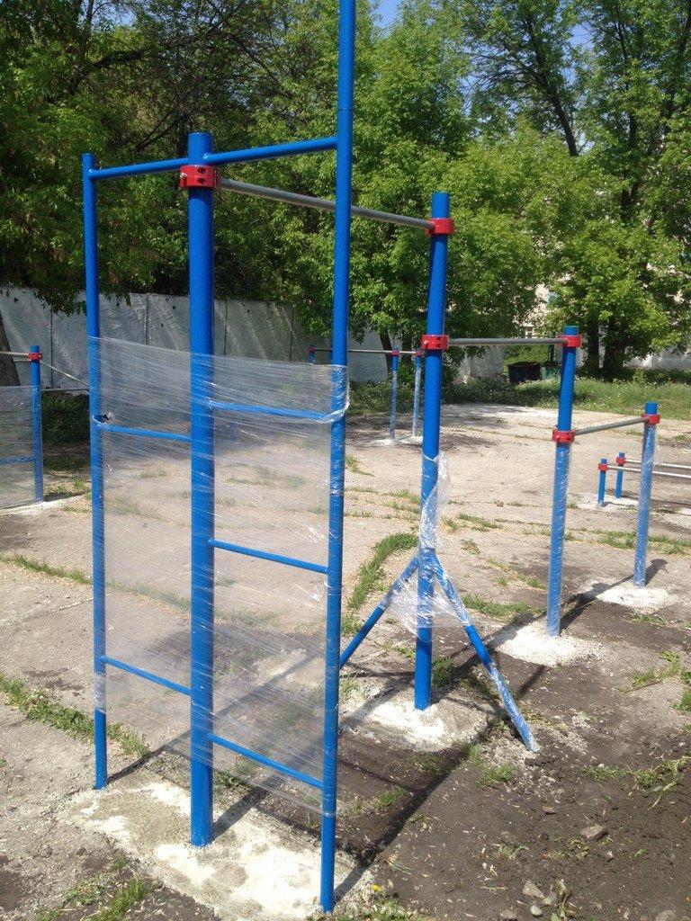 Ульяновским турникменам подарили спортивную площадку., фото-1
