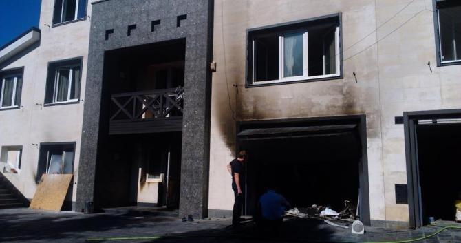 Подробности пожара в доме Олега Царева (ФОТО), фото-1