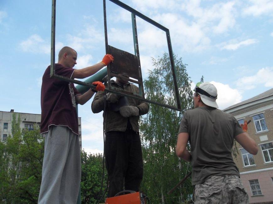 В Артемовске на обновленной площадке школы №8 пройдет турнир по стритболу, фото-1