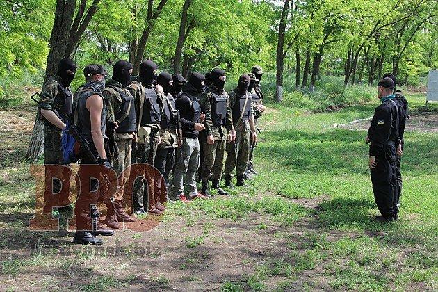 В Бердянске батальон «Азов» проводит тактические учения (ФОТО), фото-1