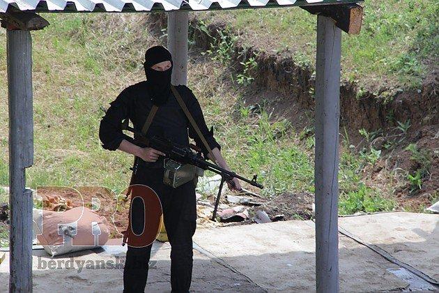 В Бердянске батальон «Азов» проводит тактические учения (ФОТО), фото-2