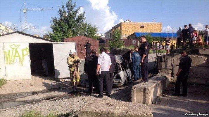 В Симферополе взорвалось авто: возбуждено дело о покушении на убийство (ФОТО), фото-2