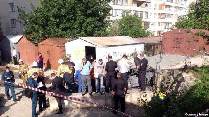В Симферополе взорвалось авто: возбуждено дело о покушении на убийство (ФОТО), фото-3