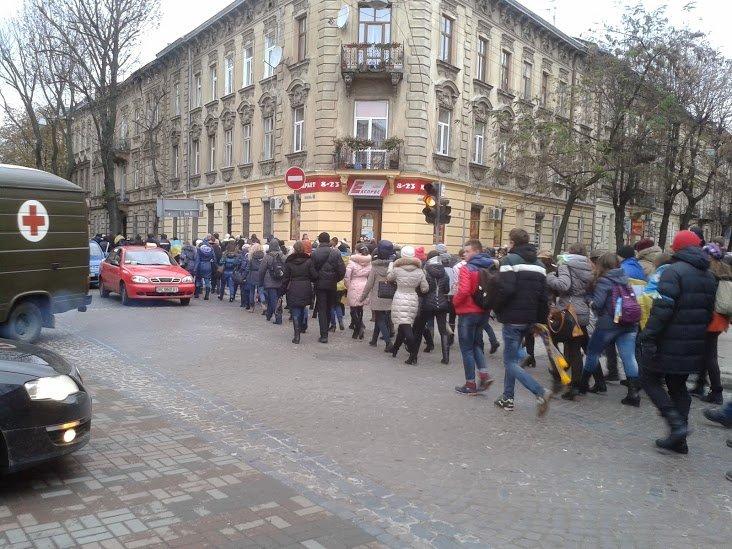 Євромайдану у Львові виповнилось півроку (ФОТОРЕПОРТАЖ), фото-6