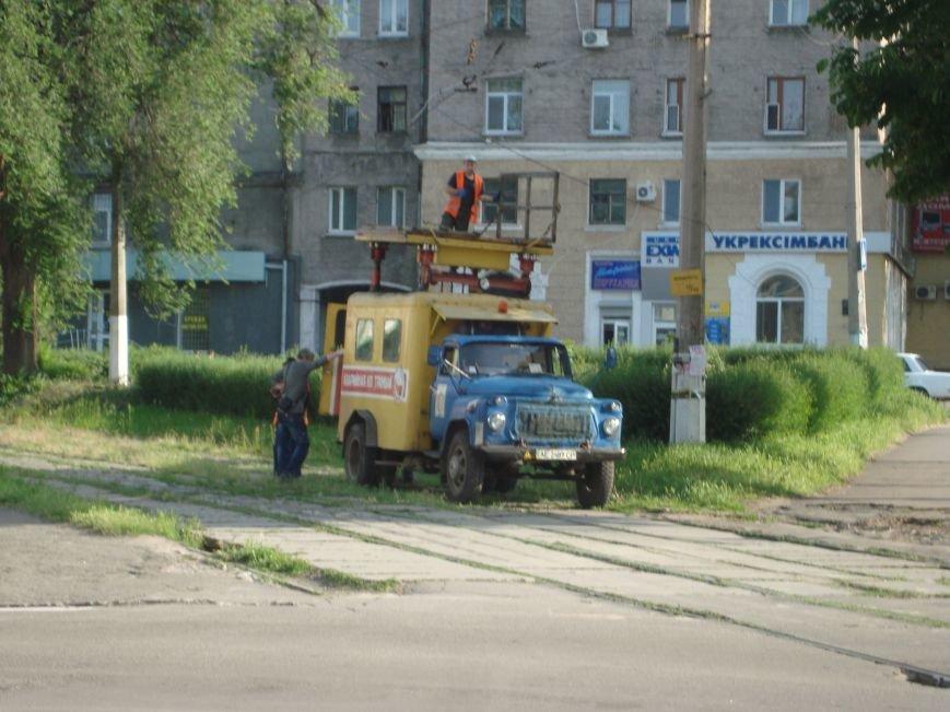 В Днепродзержинске были парализованы все трамваи, фото-2