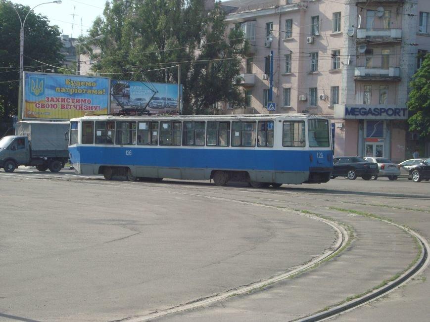 В Днепродзержинске были парализованы все трамваи, фото-1
