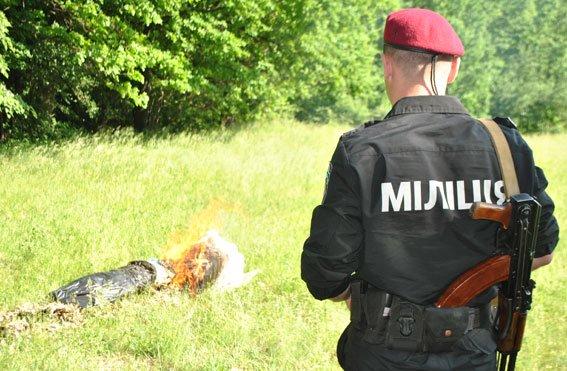 Полтавская милиция уничтожила наркотики на сумму более 20 тысяч гривен, фото-1