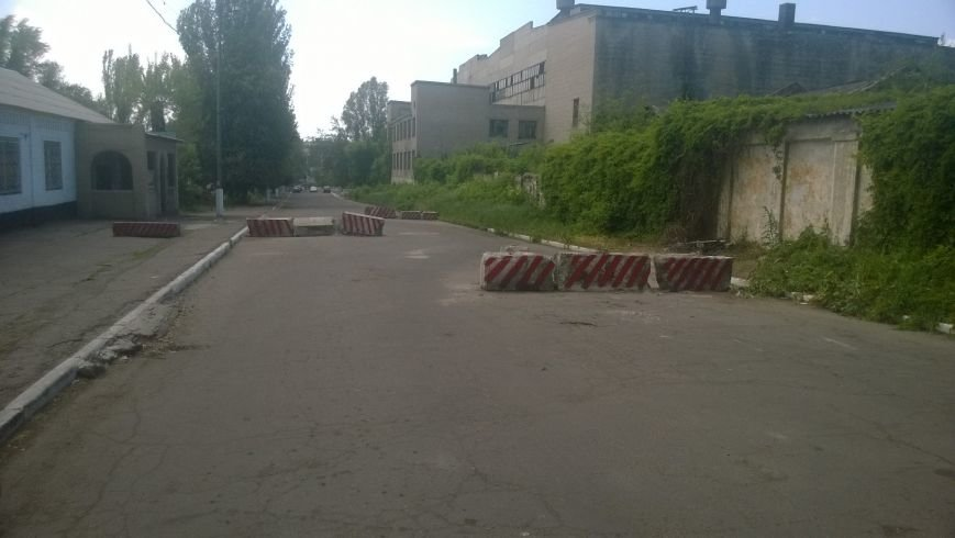 В Горловке возле одной из шахт разобрали блокпост, фото-3