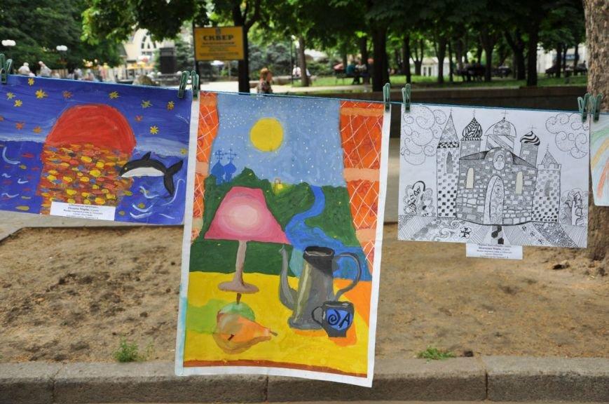 Маленькие николаевцы нарисовали будущее своего города (ФОТО), фото-7