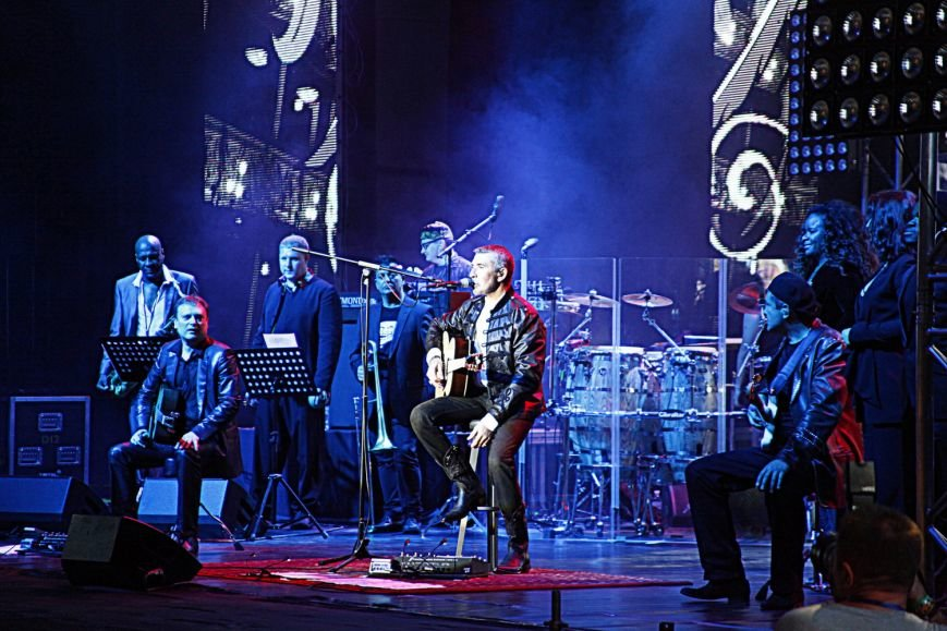 Полный аншлаг - группа D'Black Blues Orchestra подарила вчера  ялтинцам гамму позитивных чувств, фото-4