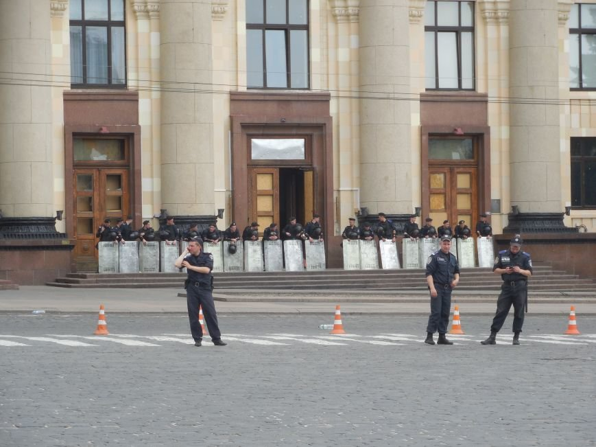 В Харькове пророссийские активисты объявили о бессрочной акции (ФОТО), фото-1