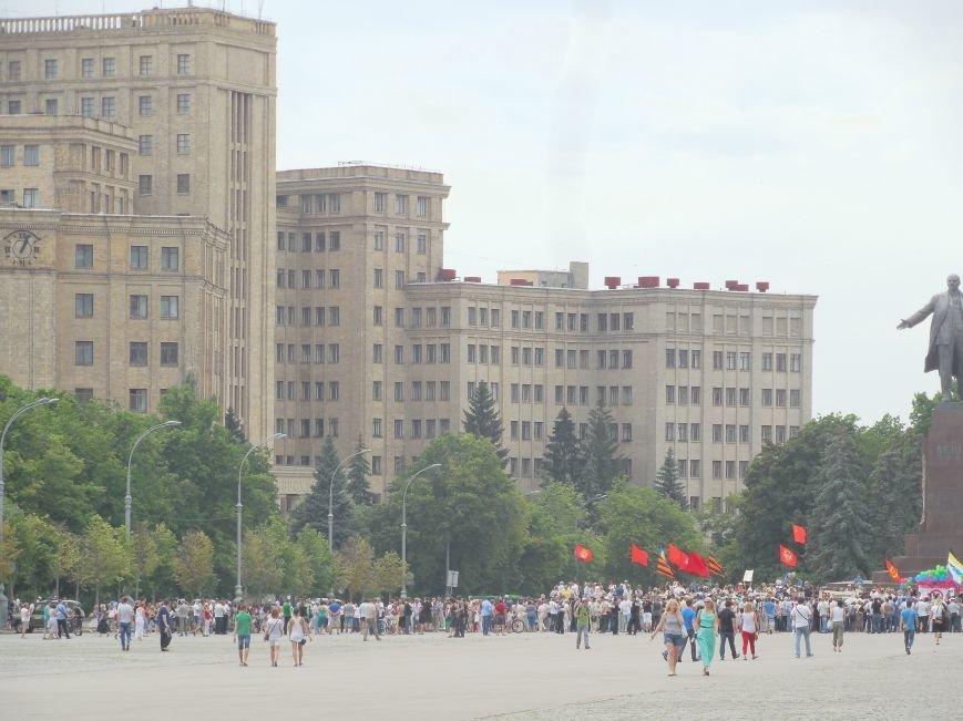 В Харькове пророссийские активисты объявили о бессрочной акции (ФОТО), фото-2