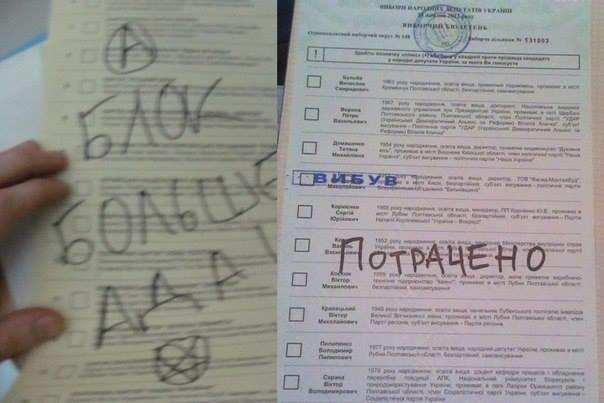 ФОТОФАКТ: Украинцы голосуют за Путина, Дарта Вейдера, фото-4