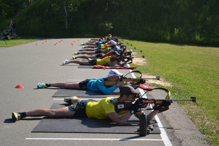 Мужская сборная Украины по биатлону тренируется в Чернигове, фото-2