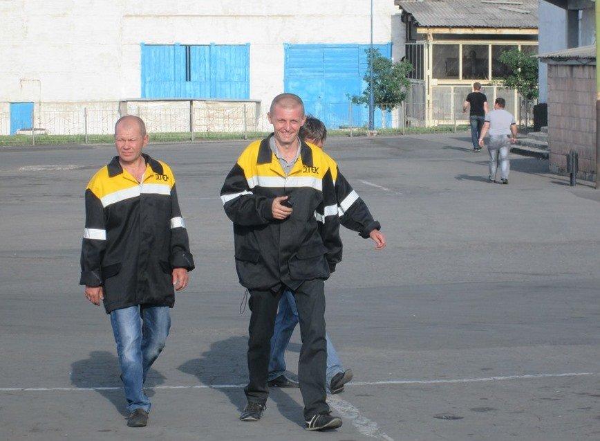 Дружинники в Ясеновском