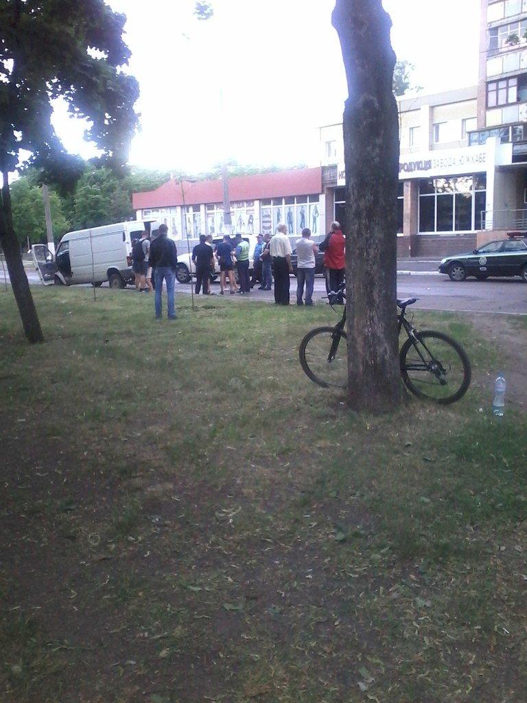 ДТП в Харькове: «Фольцваген» въехал в «Мицубиси», фото-2