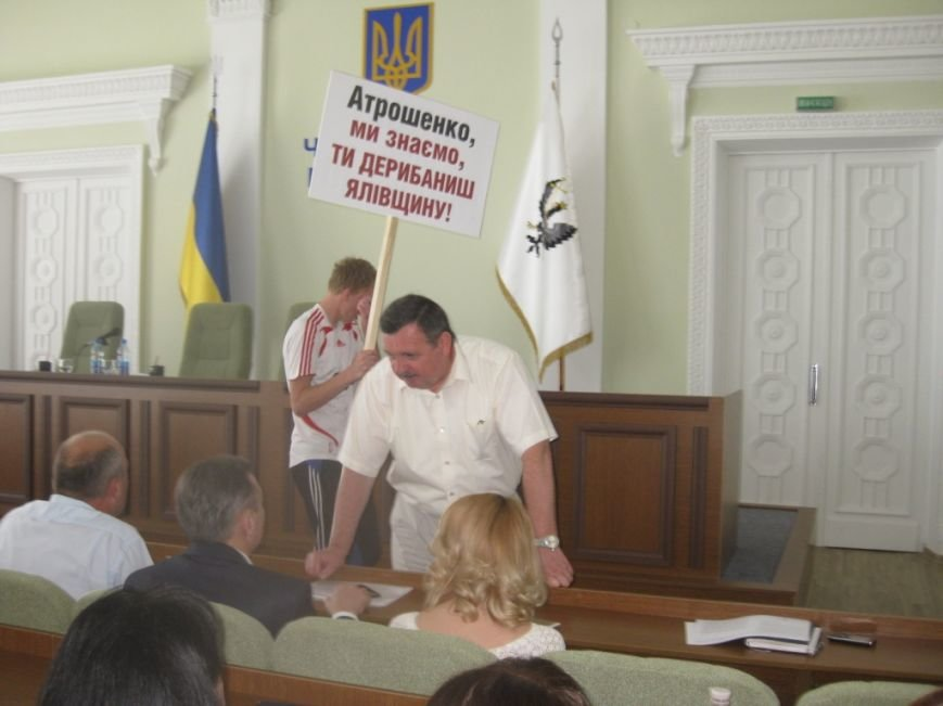 На обвинения в дерибане Яловщины черниговская «Батьківщина» ответила обвинениями в дерибане Яловщины, фото-15