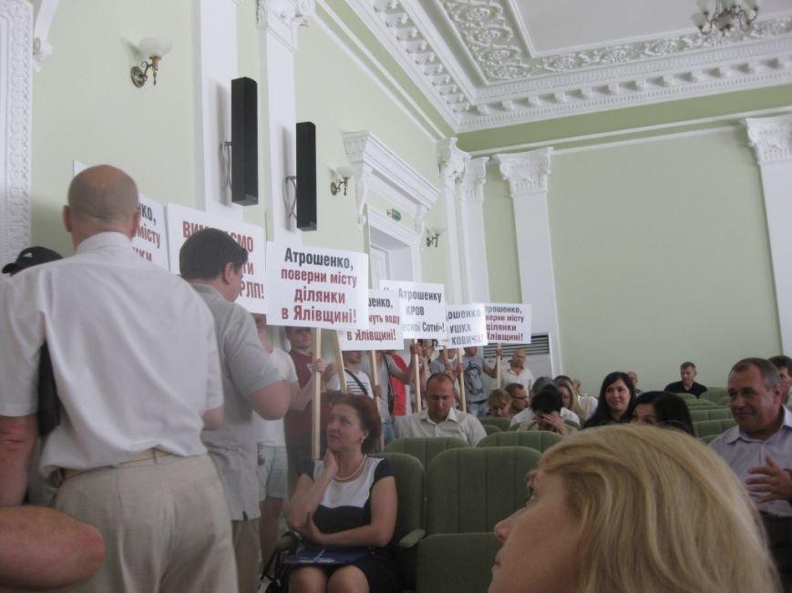 На обвинения в дерибане Яловщины черниговская «Батьківщина» ответила обвинениями в дерибане Яловщины, фото-11