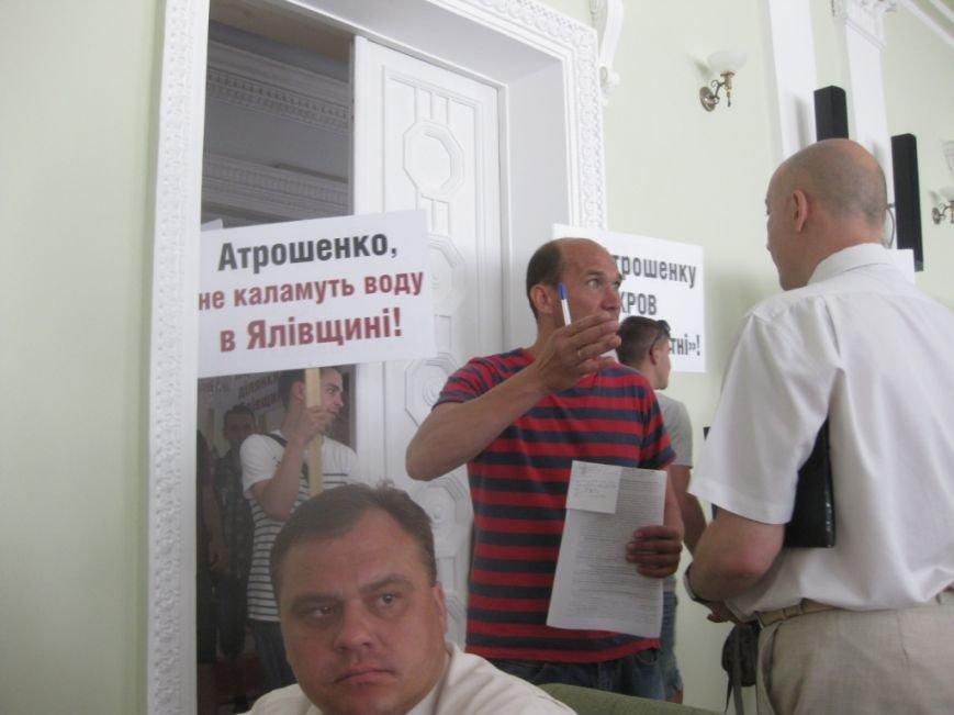 На обвинения в дерибане Яловщины черниговская «Батьківщина» ответила обвинениями в дерибане Яловщины, фото-9