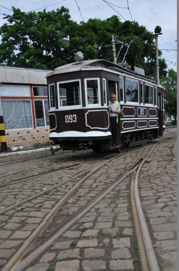 На вулицях Львова з'явився 120-річний трамвай (ФОТО), фото-1