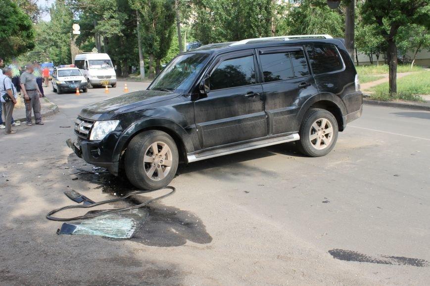В Кривом Роге столкнулись Mitsubishi и «Таврия», повреждена MG (ФОТО), фото-6