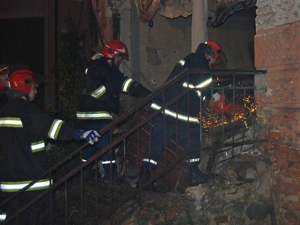 У Тернополі обвалилася стіна будинку (фото, відео), фото-5