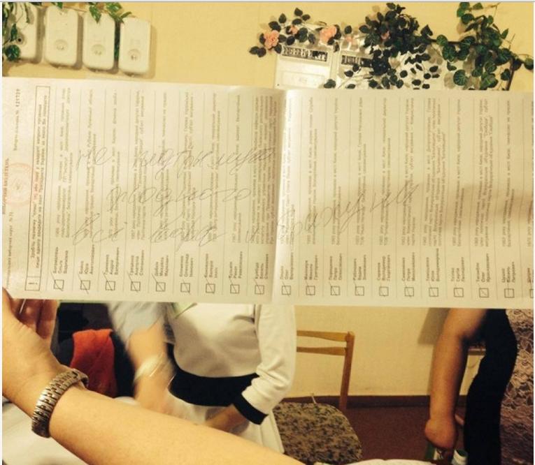 Творчі доробки виборців: українці голосували за Висоцького та Путіна (ФОТО), фото-21
